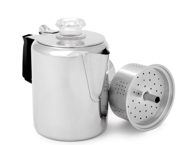 GSI Glacier Stainless Perculator 400ml zilver